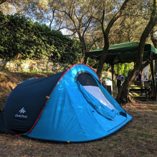 Spazio Tenda – Tent Pitch